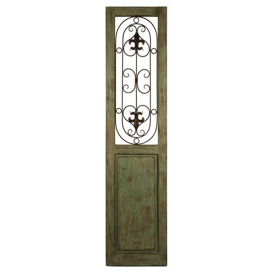 Graves Iron Door Panel