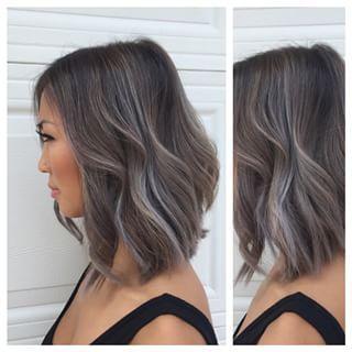 grey balayage short hair , Google Search