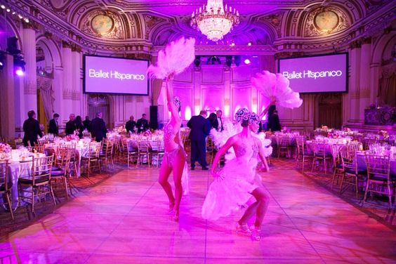 "Ballet Hispanico's 2015 Spring Gala: Ballet Hispanico's 2015 Spring Gala honored Cuban civic leaders. The event, which had a theme of ""Noche Cubana,"" took place in March at the Plaza Hotel's Grand Ballroom in New York and featured performances by the Ballet Hispanico Company as well as other entertainers."