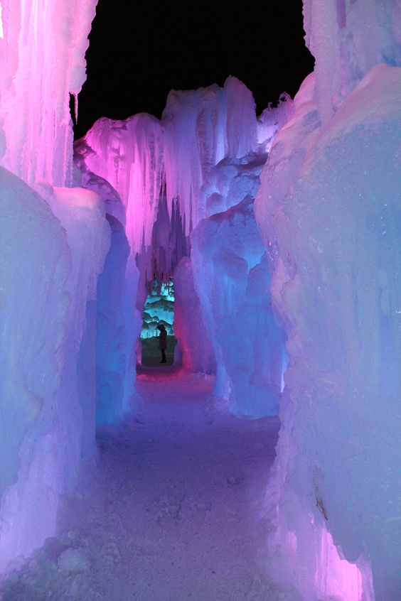 Breckenridge, Colorado Ice Castles