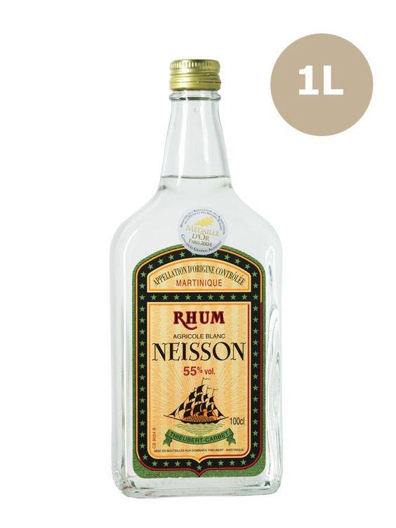Rhum NEISSON Blanc 55% 55% - La Maison du Whisky