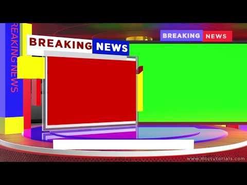 Breaking News Green Screen After Effects 2019 Video Template Youtube Greenscreen Free Green Screen Backgrounds Green Screen Video Backgrounds