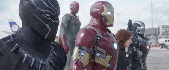 Captain America: Civil War #TeamIronman
