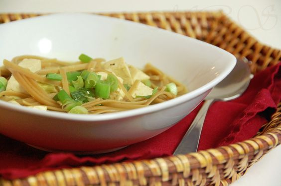 ... Ginger and Scallions | Recipes | Pinterest | Tofu Noodles, Noodle