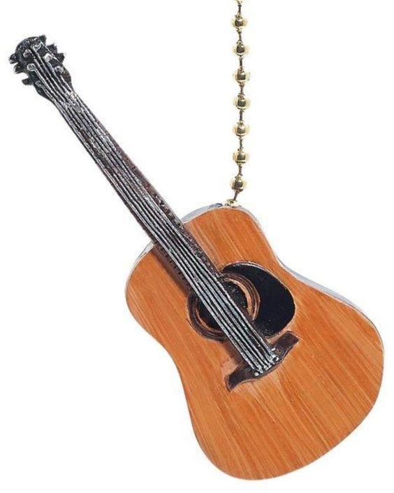 Guitar Fan Pull