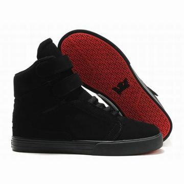 Women Supras Tk Society All Black Color Feature High