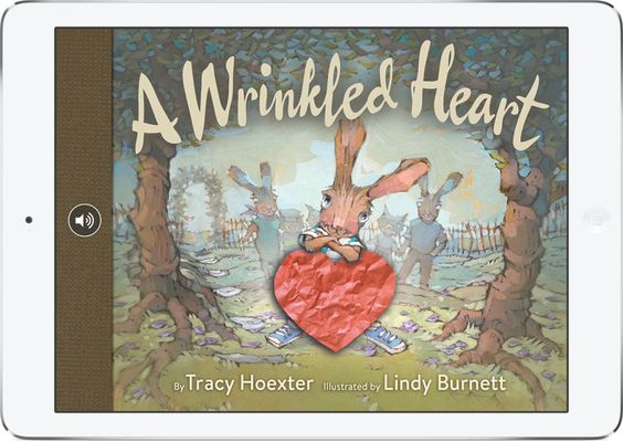 A Wrinkled Heart, in iBooks on iPad                                                                                                                                                      More                                                                                                                                                     More