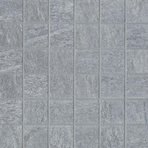 Urban 2 0 2 X 2 Floor Wall Mosaic In Lava Grey Stone Look