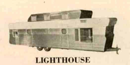 1955 lighthouse duplex 38 39 mobile home this unit had for Mobile home duplex