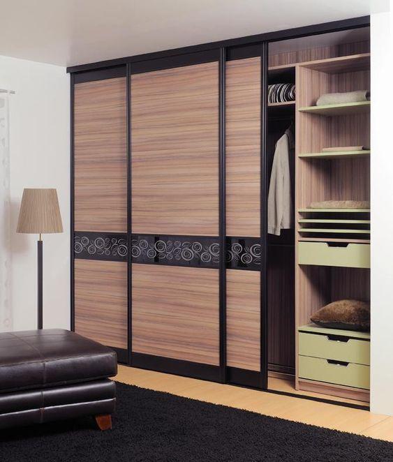 Comment d corer des portes coulissantes de placard - Decorer une porte de placard ...