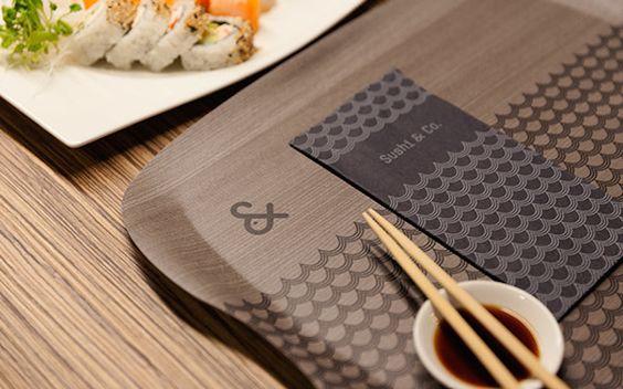 sushi bar branding - Buscar con Google