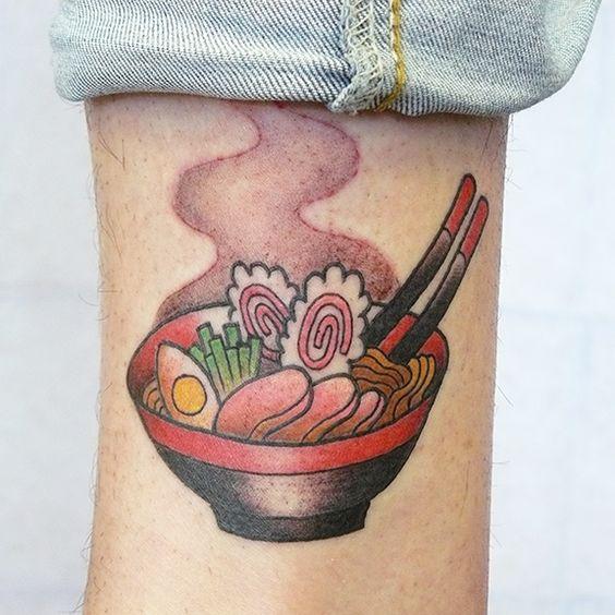 Ramen Bowl Tattoo ::: Tania Zhang ::: Https://instagram