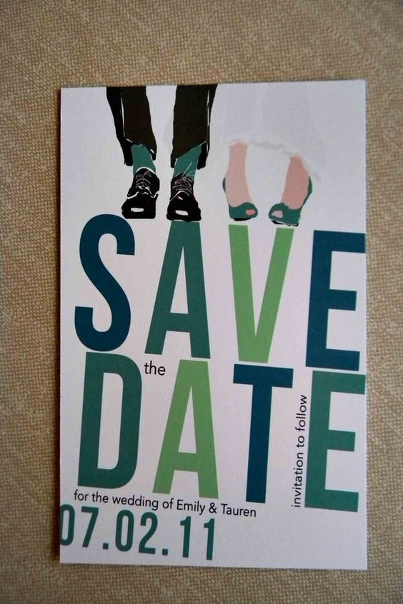 save the dates... lets start brainstorming