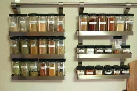 57 Fabulous Spice Rack Ideas A Solution For Your Kitchen Storage Hanging Spice Rack Spice Rack For Small Spaces Kitchen Spice Storage