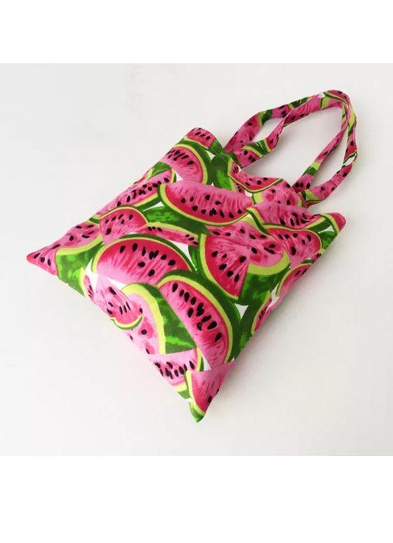 Watermelon print shoulder bag on eBay