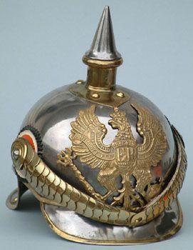 1862 M1867 Metalhelme pickelhaube.