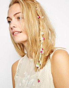 ASOS Mini Paper Flowers Hair Grip