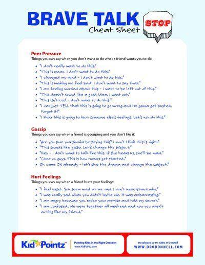 Peer Pressure | Feelings | Hurtful Language | Kid Point Loving this FREE Site!!