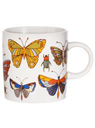 Apothecary Insects Butterfly Print Mug