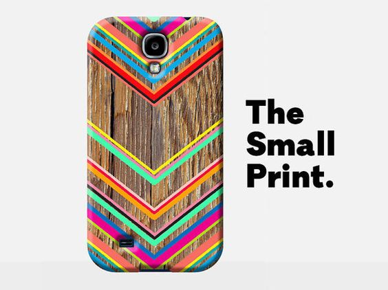 $24.11 CHEVRON Phone Case, zig zag samsung case, wood effect samsung s5 case, samsung galaxy S5 case, s5 case, wood grain look, wood look case