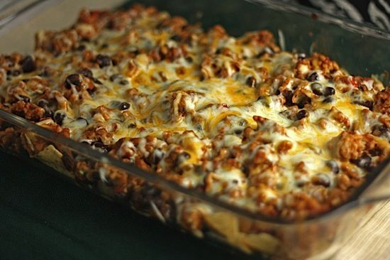 Taco Casserole weight watchers. This is so good!