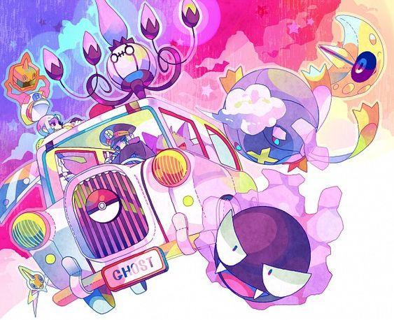 Pokemon ghosts