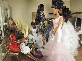Fashion Dolls at Van's Doll Treasures: Has Anyone Seen the Flowers?