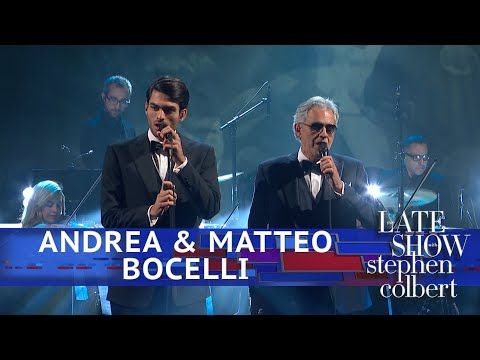 Andrea Matteo Bocelli Perform Fall On Me Youtube With
