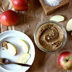 Raw Salted Caramel Apple Dip   My New Roots