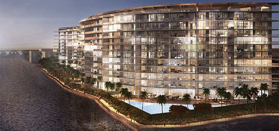 Echo Aventura Florida luxury condo development.