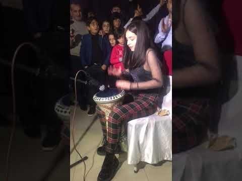Arabic Remix Fi Ha Burak Balkan Maria Abulashvili Darbuka Show Youtube Remix Maria Asian History