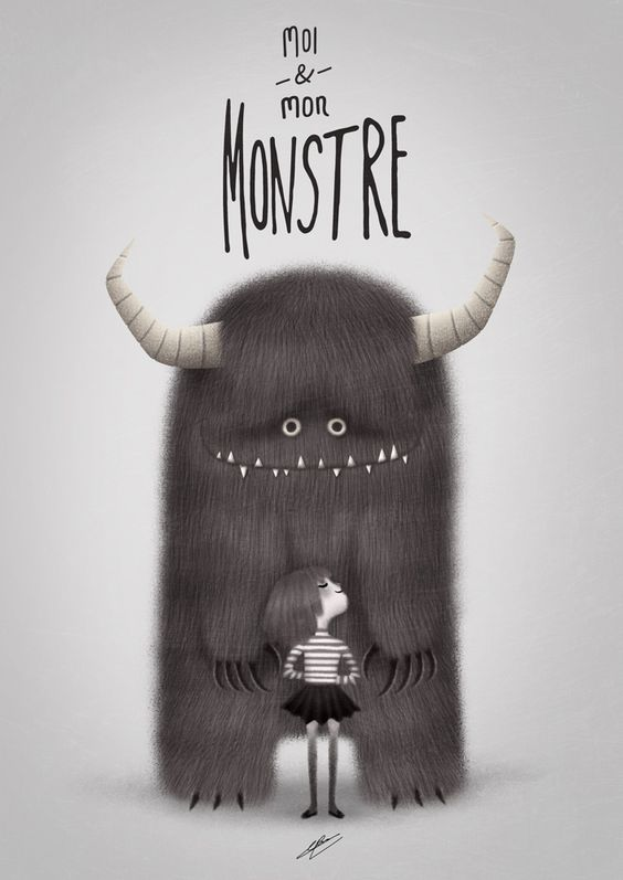 ME AND MY MONSTER by ~GrievousGeneral on deviantART