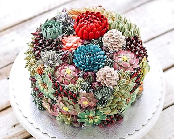 These incredibly lifelike succulent cakes will blow your mind | Inhabitat - Green Design, Innovation, Architecture, Green Building