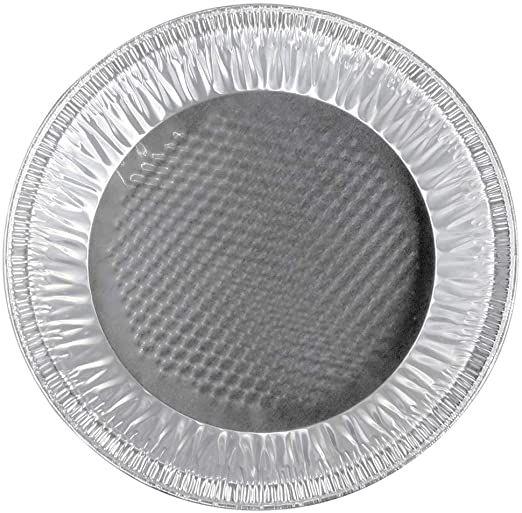 Disposable Silver Aluminum Foil Pie Plate Pan 9 10