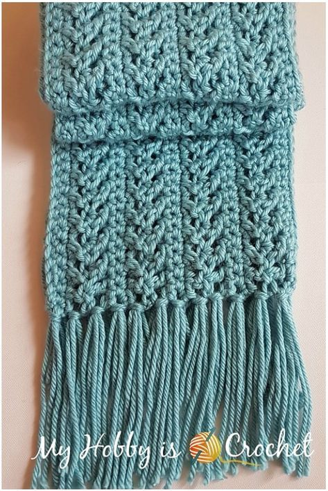 Go with the Flow Super Crochet Scarf FREE | Pattern Center