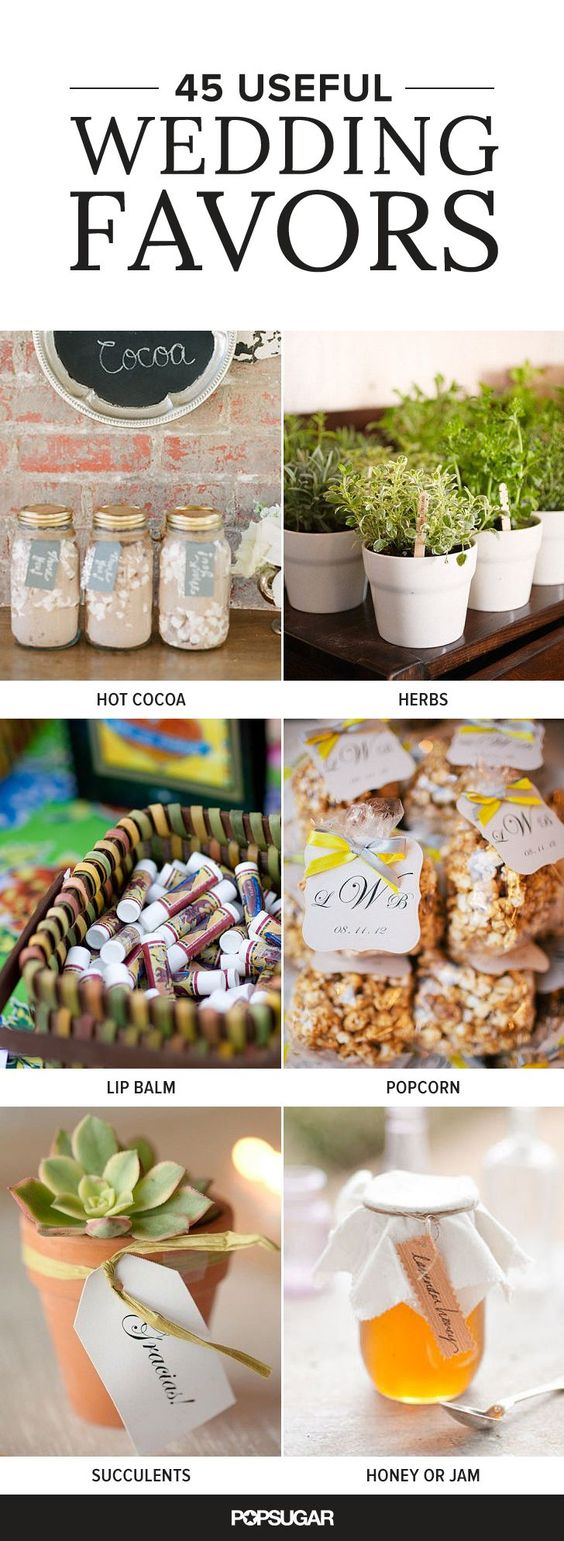 45 Wedding Favors Your Guests Will Actually Use Jewe Blog