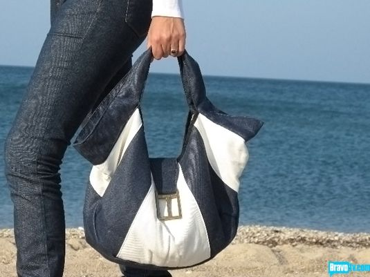 Rockaway tote.  Made from organic cotton.