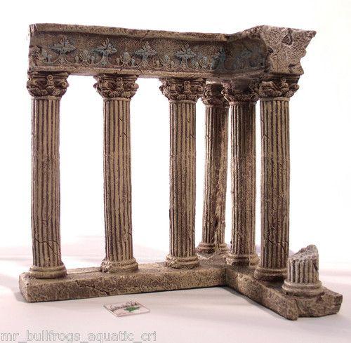 Ancient greece column ruins 481 aquarium ornament fish for Ancient greek decoration