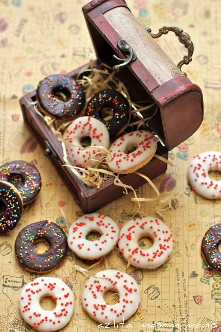 Donuts Snow White And Snow On Pinterest