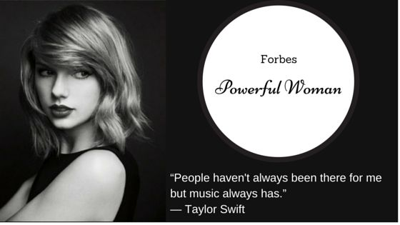 """""""People haven't always been there for me but music always has.""""  #TaylorSwift #GoodReads #DailyQuotes"""