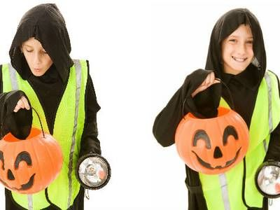 Automobile Association wants kids dressed up in high-viz for Hallowe'en