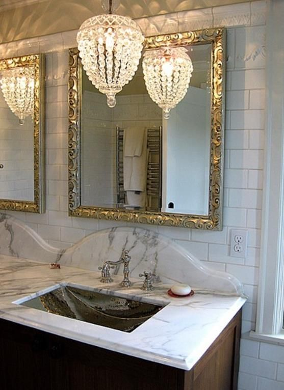 18 Best Beautiful Bathroom With Crystal Chandelier Ideas Decor Renewal Bathroom Chandelier Lighting Bathroom Chandelier Glamorous Bathroom