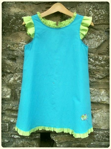 Organic Ruffle Dress - Creative Connections - via http://bit.ly/epinner