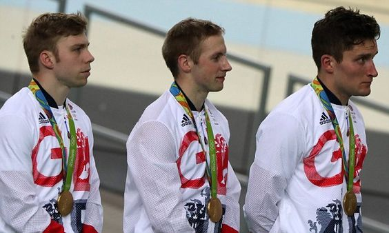 Callum Skinner inspired Great Britain land men's team sprint gold