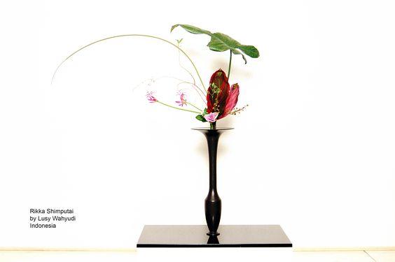 Ikebana Ikenobo Rikka Shimputai by Lusy Wahyudi Indonesia