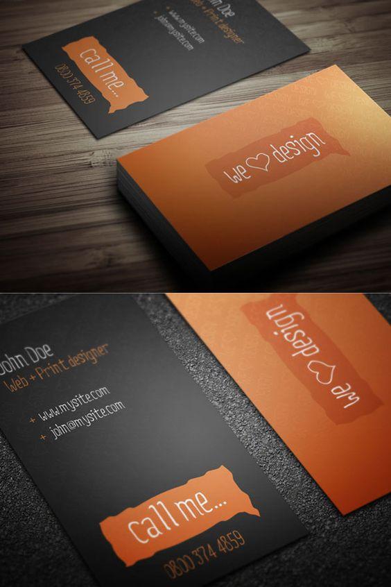 Más de 20 creativos e inspiradores ejemplos de tarjetas de visita con un excelente diseño | TodoGraphicDesign