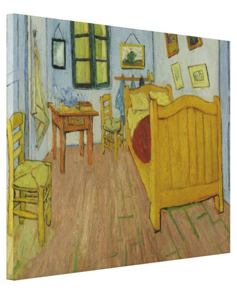 bedroom in arles by vincent van gogh gallery wrapped canvas