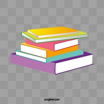color cartoon books stacked together png and psd in 2020 book clip art coloring books creative books cartoon books stacked together png