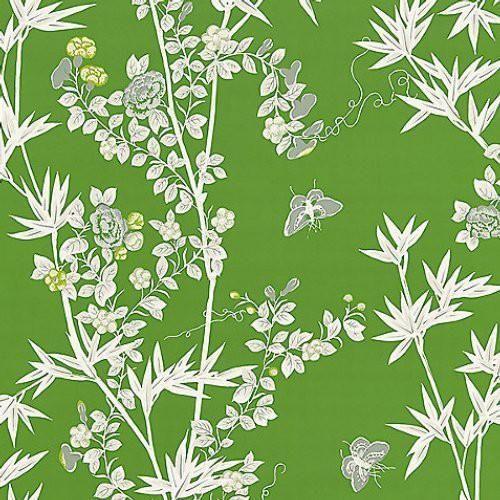 Scalamandre Jardin De Chine Jade Wallpaper In 2020 Wallpaper