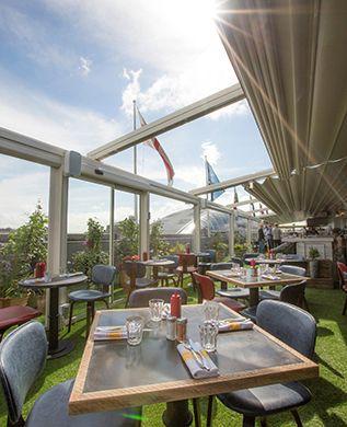 rooftop restaurants London